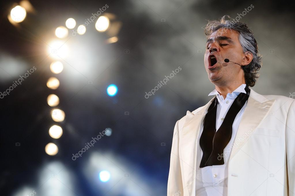 Andrea Bocelli tour 2020