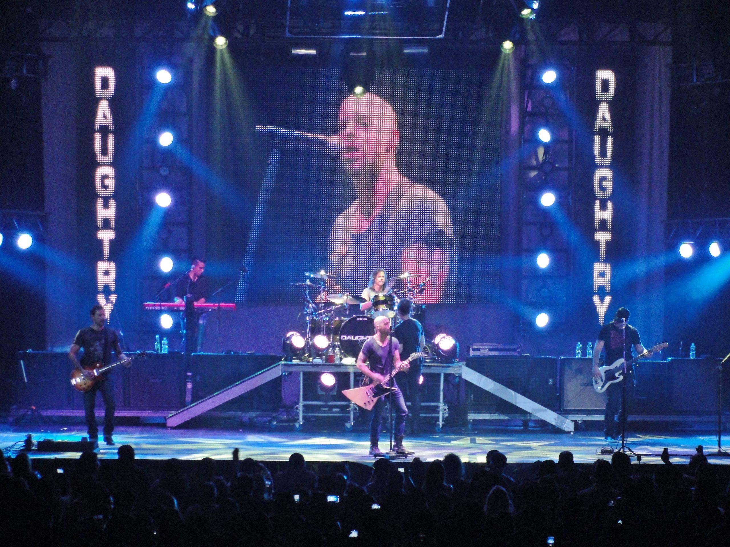 Daughtry tour 2020