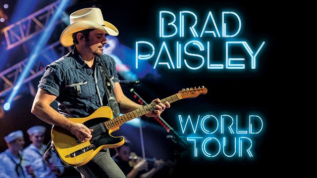 Brad Paisley Tour 2020