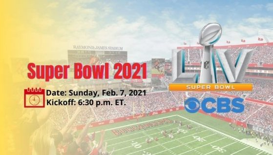 super bowl 2021 Live Stream