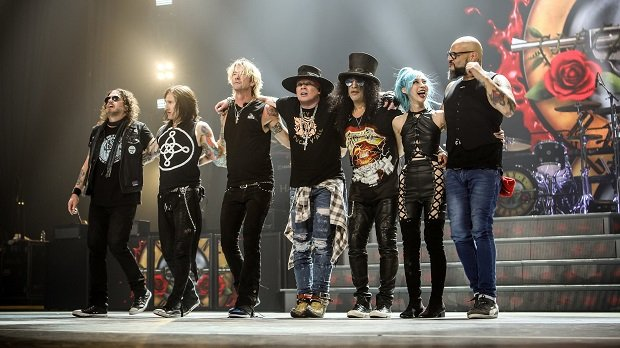 Guns N' Roses Be On North American 2020 Stadium Tour.