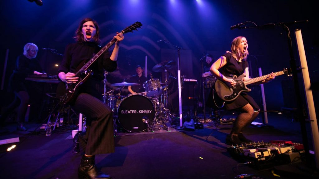 Sleater Kinney Plots USA Tour Dates & Concert Schedule
