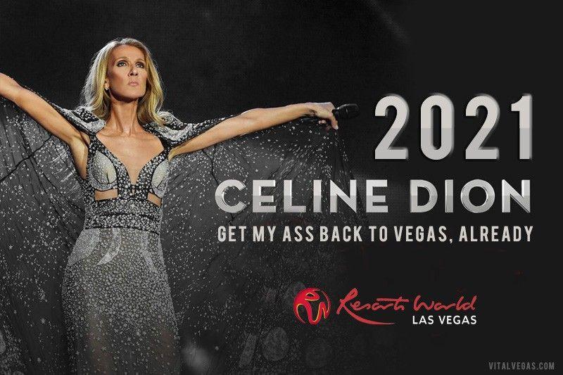 Celine Dion Tour 2021