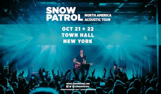Snow Patrol Tour 2021
