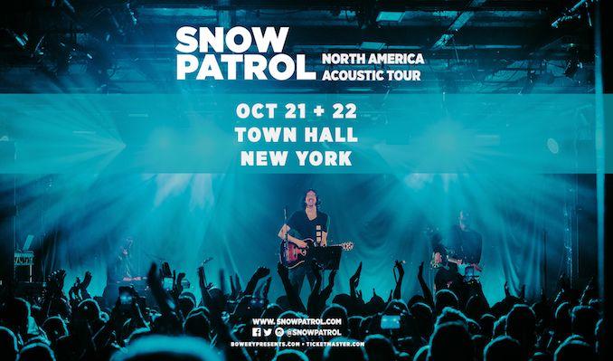Snow Patrol Tour 2021