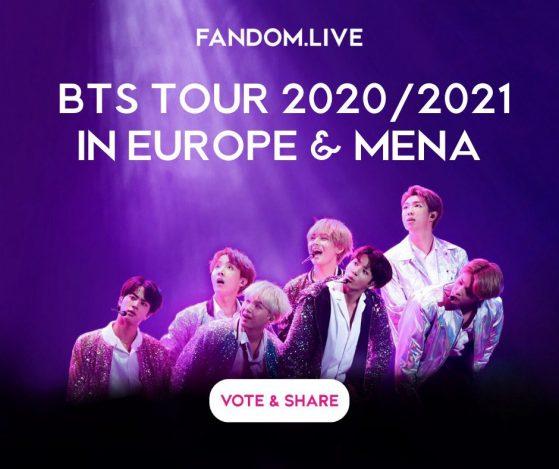 BTS tour 2021