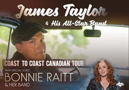 Bonnie Raitt and James Taylor's Tour 2021