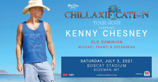 Kenny Chesney Tour 2021