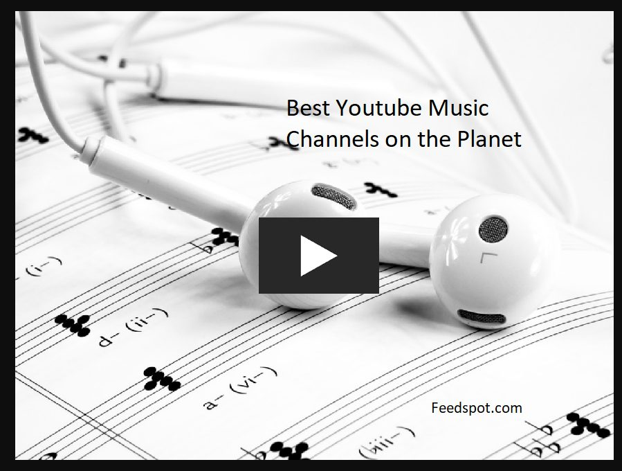 top ten best music channel on youtube
