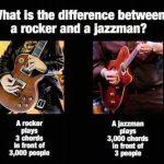 Rock Vs JAzz